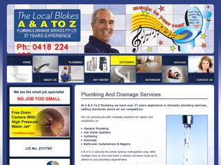 AA and A To Z Plumbing & Drainage Services Pty Ltd - Plumber - Marrickville 2204