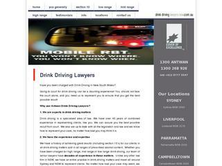 Drink Driving Lawyers Penrith