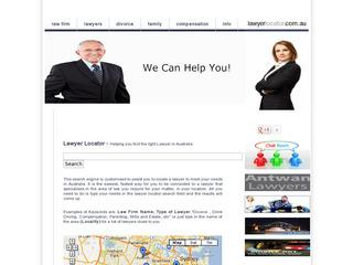 Lawyer Locator Directory