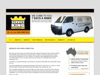 Service King Mobile Mechanic Sydney